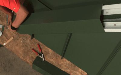 Metal Roofing Installation: Hip Detail