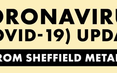 Coronavirus (COVID-19) Information & Updates From Sheffield Metals