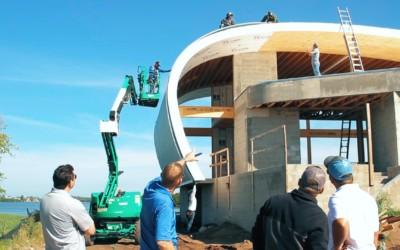 Florida Metal Roofing Installation Project: Aluminum Radius Roof