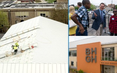 BHGH and the Rajan Academy Center Metal Roof Project: Make Hope Happen