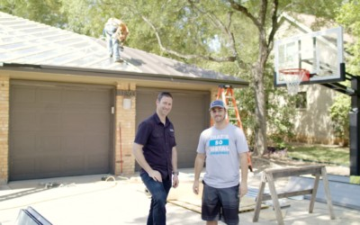 Installing a Metal Roof on Matt Risinger's House