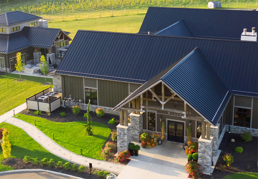 Standing Seam Vs. Stamped Metal Shingle Roofing: Architectural Design Freedom