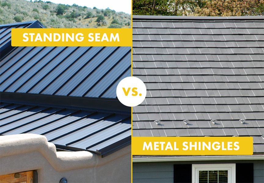 Standing Seam Vs. Stamped Metal Shingle Roofing: Final Thoughts