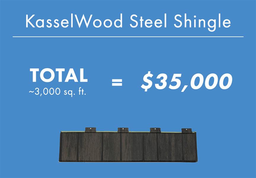Standing Seam Vs. Stamped Metal Shingle Roofing: KesselWood Steel Shingle