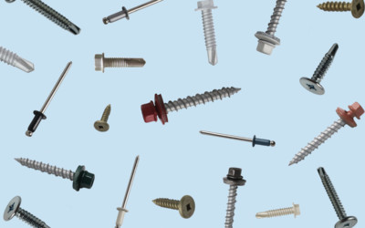 What are Metal Roof Fasteners & Rivets? Types, Definitions, & Cost
