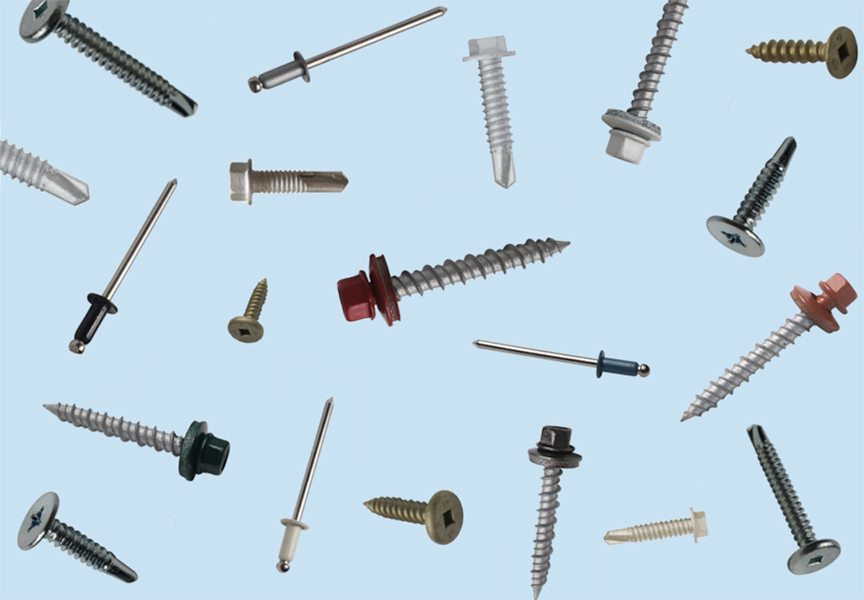 What Are Metal Roof Fasteners and Rivets: Main