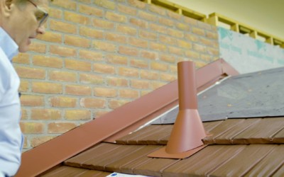 How to Install a Water-Tight Pipe Flashing on Metal Shingles