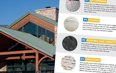 Metal Roofing Problems: 7 Common Issues That Could Affect a Metal Roof