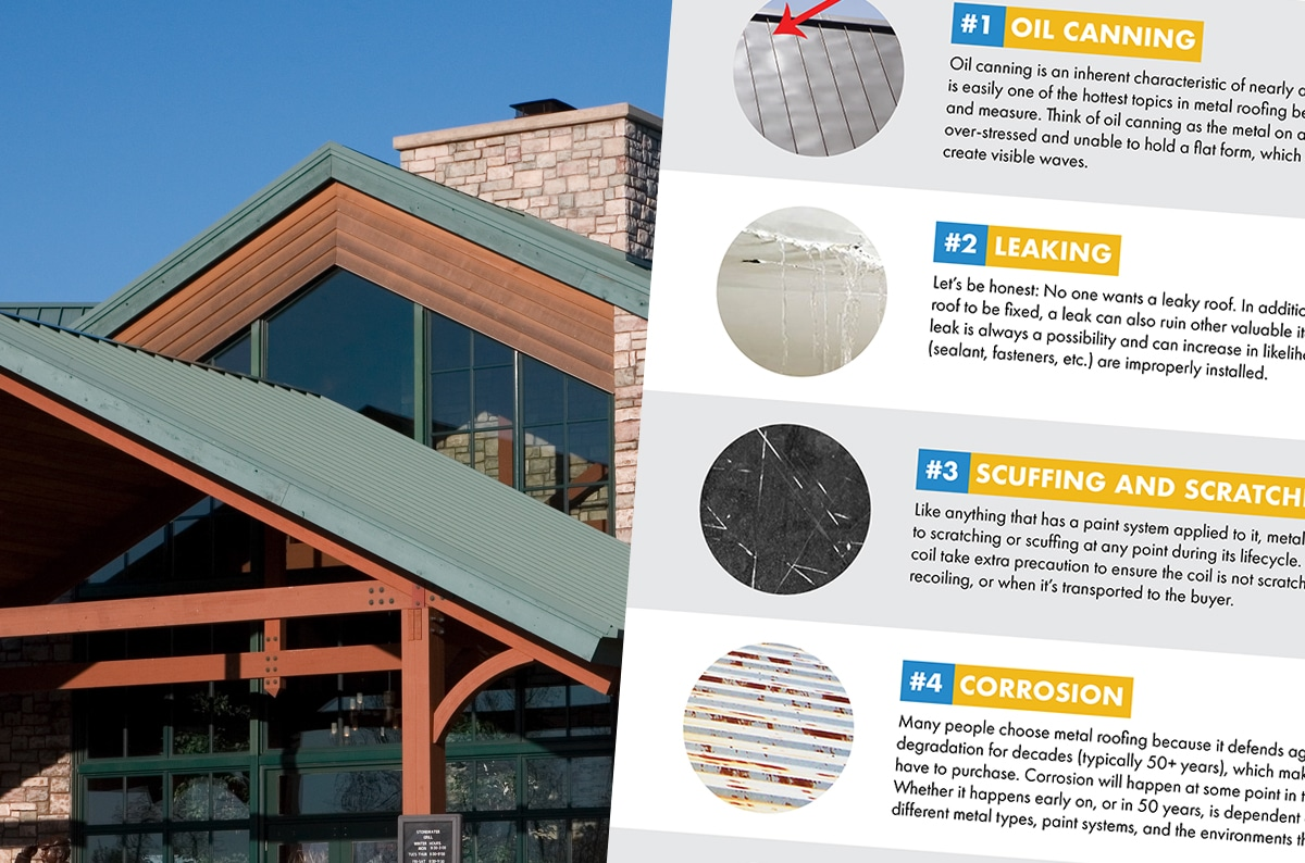 Metal Roofing Problems 7 Common Issues That Could Affect A Metal Roof