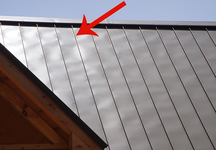 7 Common Problems That Could Affect Your Metal Roof: Oil Canning