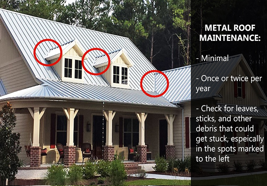 7 Reasons a Metal Roof is the Best Choice for Your Home or Business: Low Maintenance