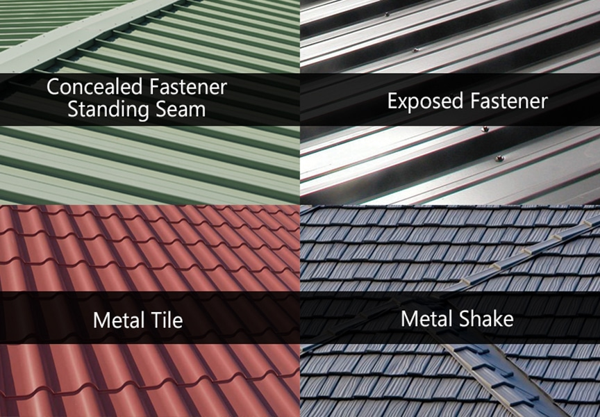 7 Reasons a Metal Roof is the Best Choice for Your Home or Business: Style / Design