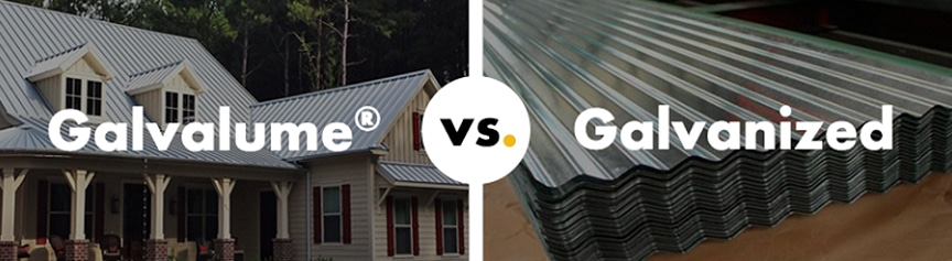 Best Metal Roofing Articles of 2019: Galvalume Vs. Galvanized