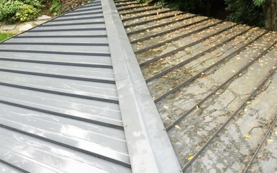 Cleaning a Painted Metal Roof System: How To & Best Methods