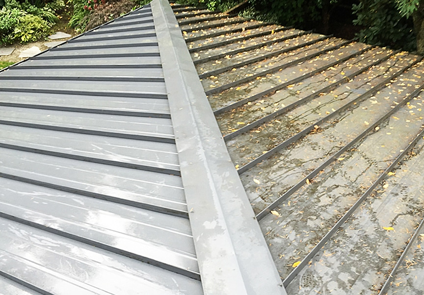 Cleaning a Painted Metal Roofing System: How To & Best Methods: Hire A Professional