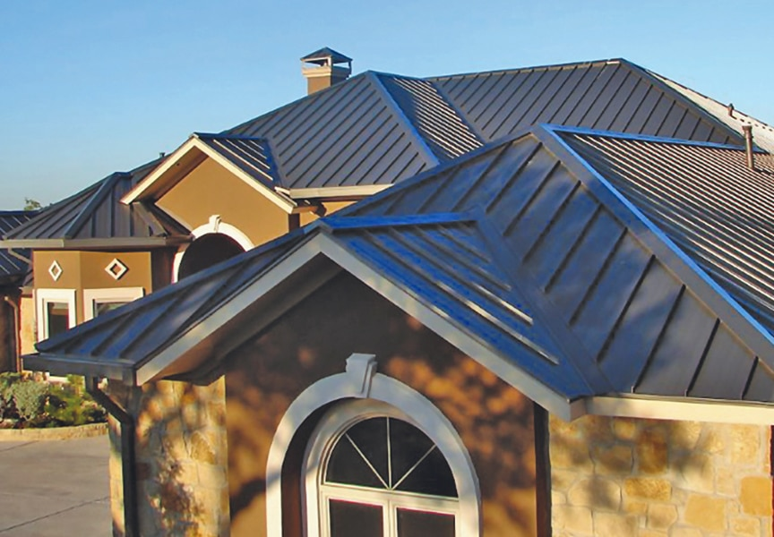 Cleaning a Painted Metal Roofing System: How To & Best Methods: Main