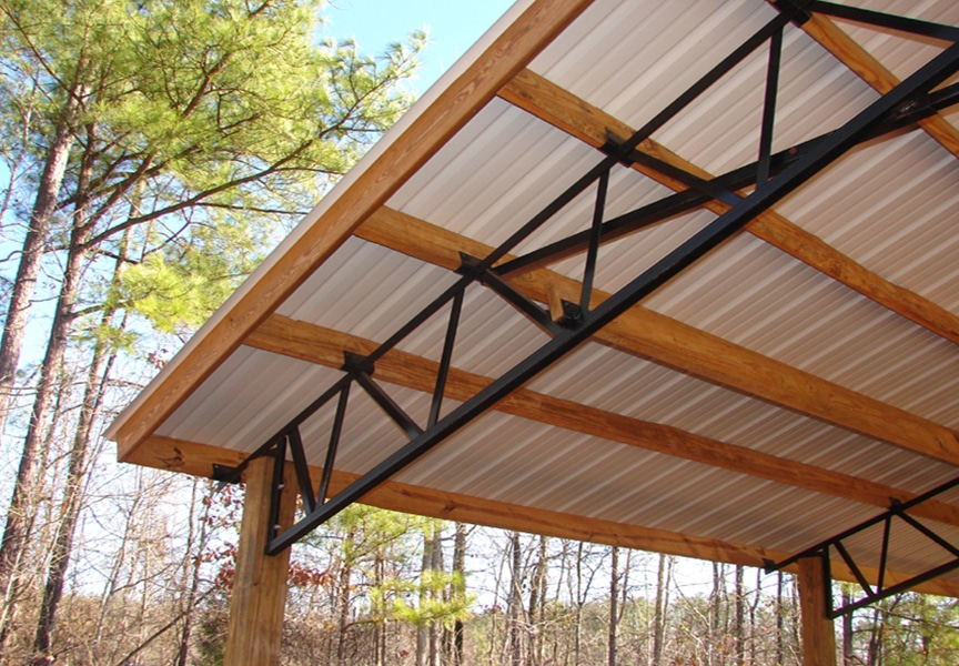 Designing Standing Seam Metal Roofing: Top 5 Considerations to Remember: Open Frame Deck Substrate
