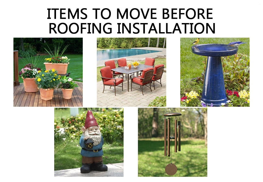 Expectations & How to Best Prepare for Your Metal Roof Installation: Things to Move