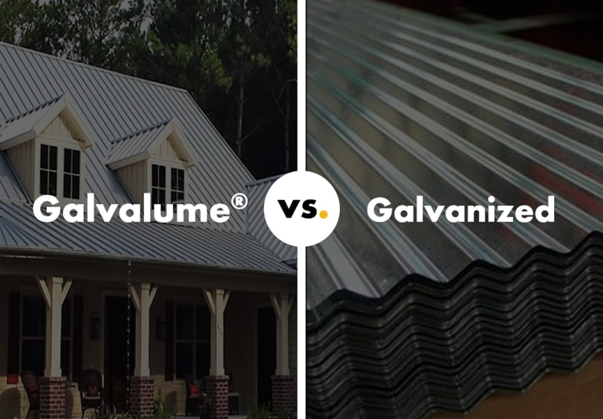 Galvalume® vs Galvanized Metal: What are the Differences, Pros, & Cons: Main