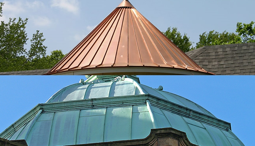 How to Choose the Best Material for Your Metal Roofing Project: Copper / Patina