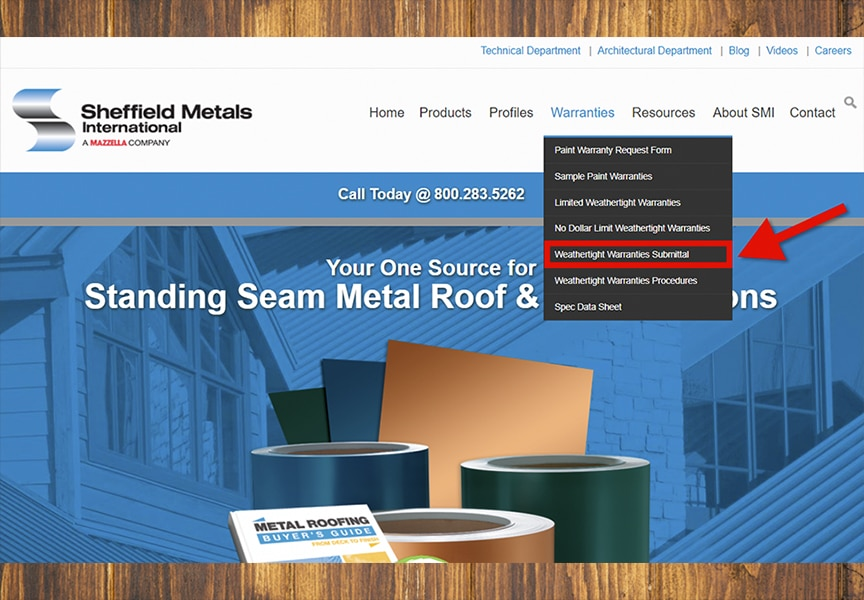 How to Get a Metal Roof Weathertight Warranty: Procedure & Process: Submit A Weathertight Warranty