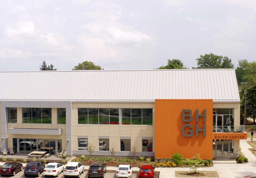 Metal Roof Project: The Rajan Center at Boys Hope Girls Hope of NE Ohio: Finished Rajan Center