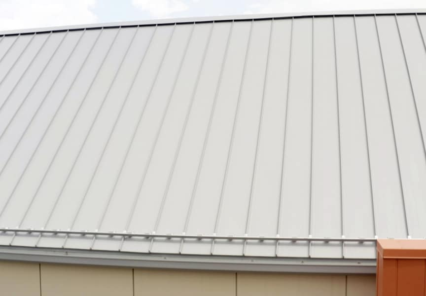 Metal Roof Project: The Rajan Center at Boys Hope Girls Hope of NE Ohio: Standing Seam Metal Roof