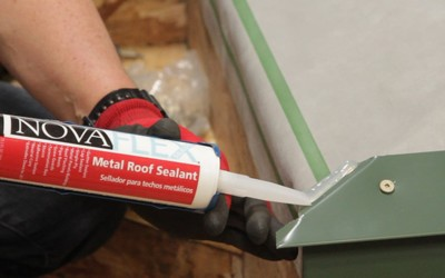 What is Metal Roof & Wall Sealant? Types, Uses, & Applications