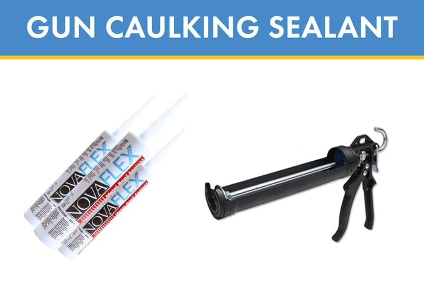 What is Metal Roof & Wall Sealant? Types, Uses, & Applications: Gun Caulking Sealant