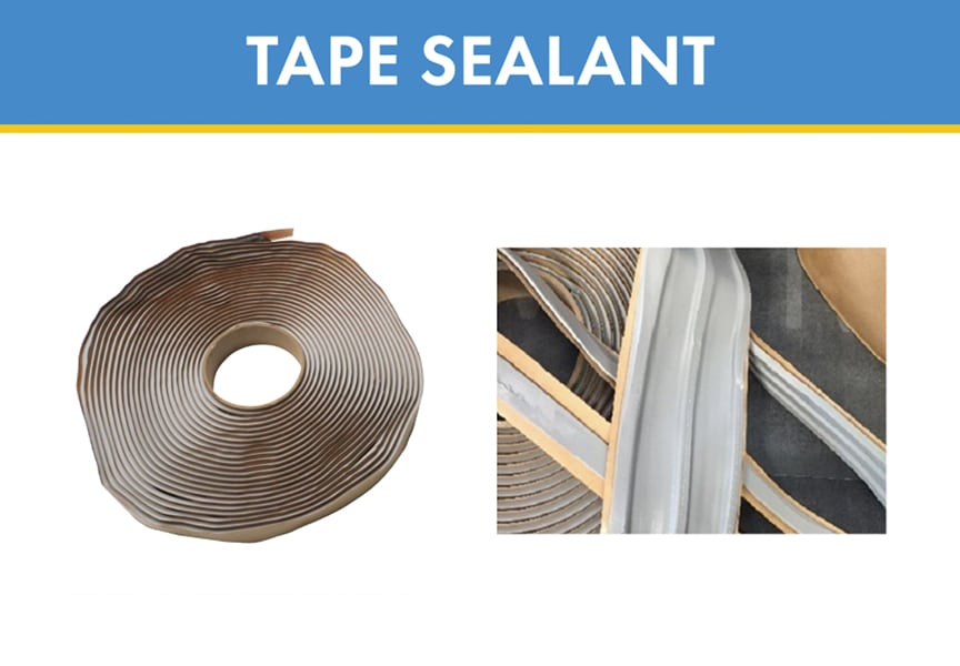 What is Metal Roof & Wall Sealant? Types, Uses, & Applications: Tape Sealant