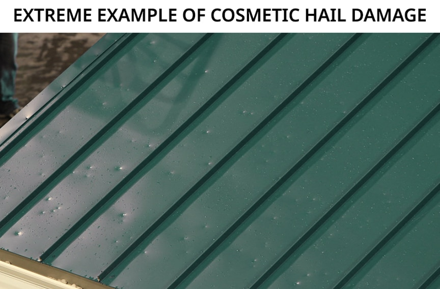 Metal Roofing & Hail: How Hail is Tested & Insurance Damage Waivers: Hail Damage