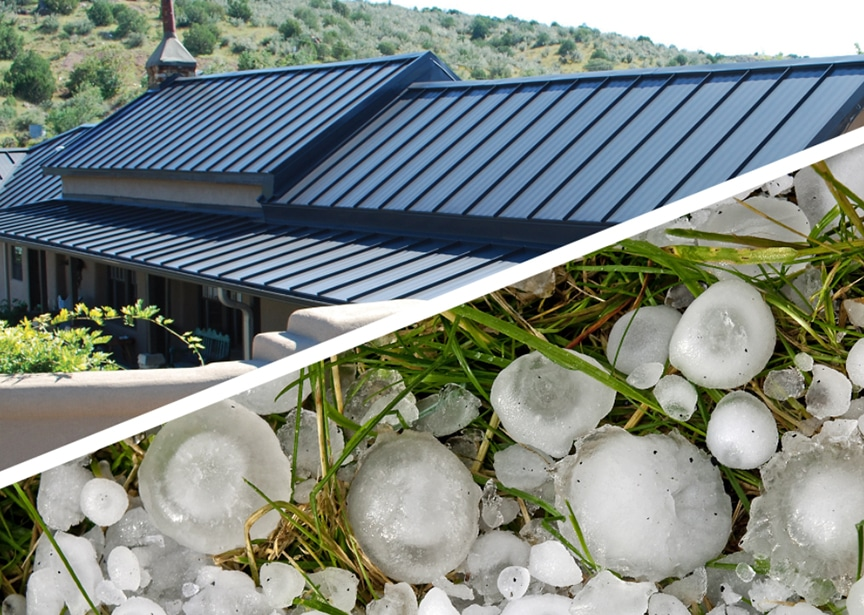 Metal Roofing & Hail: How Hail is Tested & Insurance Damage Waivers: Main