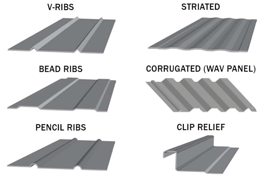 Metal Roofing & Hail: How Hail is Tested & Insurance Damage Waivers: Ribs / Striations Vs. Flat Panels