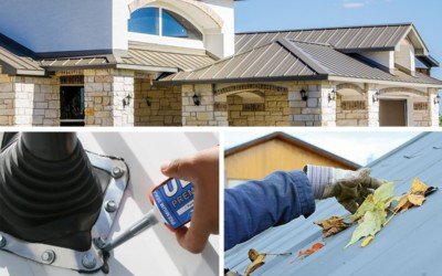Metal Roofing Maintenance Methods & How to Care for Your Roof