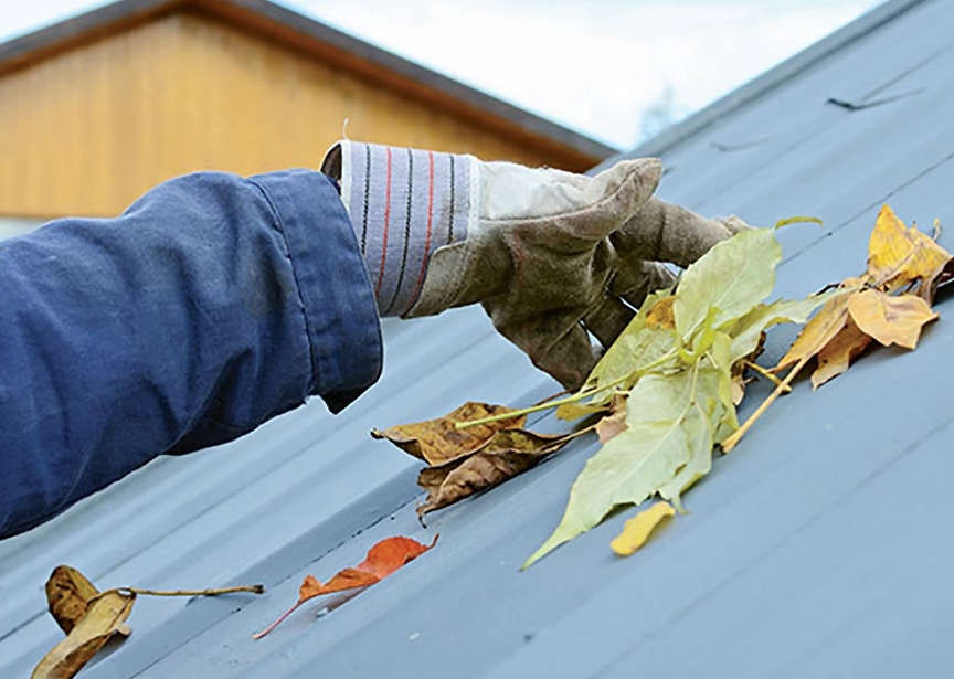 Metal Roofing Maintenance Methods & How to Care for Your Roof: Remove Debris