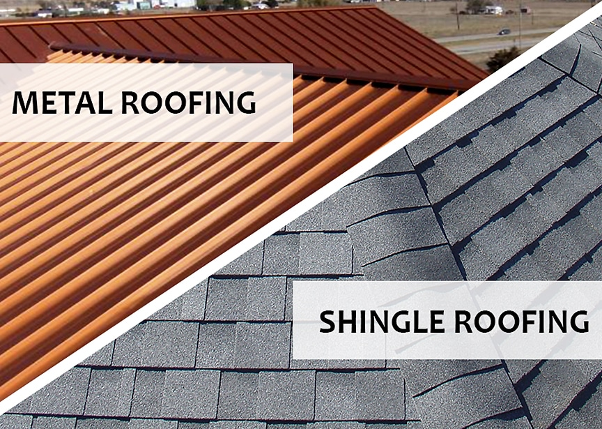 Metal Roofing vs Shingle Roofing: Which Should I Choose: Metal Roofing Vs. Shingle Roofing