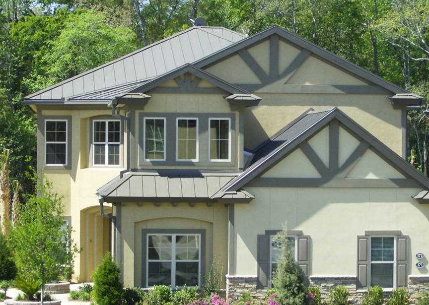 Metal Roofing vs. Spanish Clay Tile: Which Roof Material is Best: Standing Seam Metal Roofing
