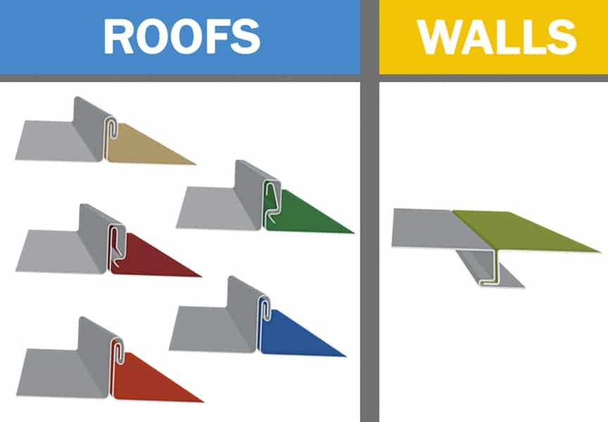 Metal Roofing Weathertight Warranties: Uses, Types, & Definitions: Panel Profiles
