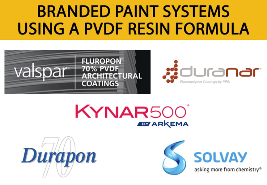 Reviewing 5 Common Misconceptions of Metal Roofing Products: Branded Paint Systems Using PVDF Resin Formula