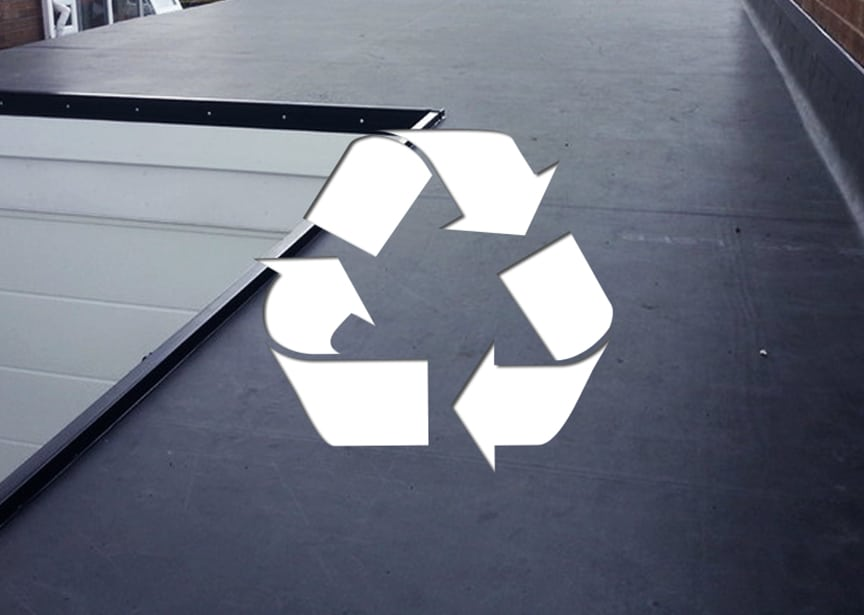 Roofing & Recyclability: Metal vs. Shingle vs. EPDM vs. Tile Roofing: EPDM Roofing