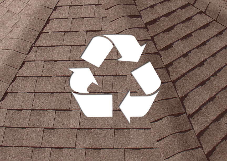 Roofing & Recyclability: Metal vs. Shingle vs. EPDM vs. Tile Roofing: Shingle Roofing