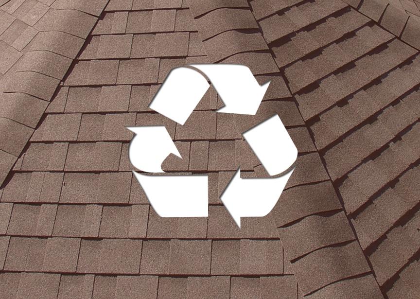 Roofing & Recyclability: Metal vs. Shingle vs. EPDM vs. Tile Roofing: Shingle Roofing