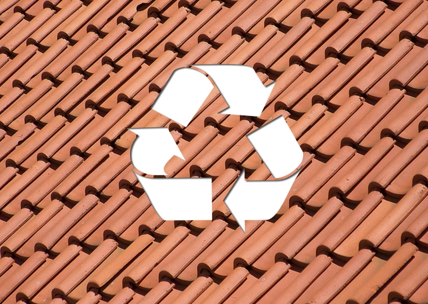 Roofing & Recyclability: Metal vs. Shingle vs. EPDM vs. Tile Roofing: Tile Roofing