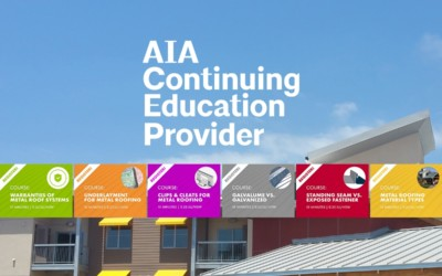 Sheffield Metals Releases Six AIA-Approved Continuing Education Nano Courses: Featured