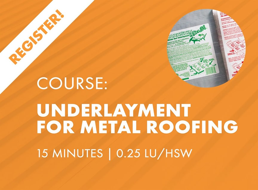 Sheffield Metals Releases Six AIA-Approved Continuing Education Nano Courses: Underlayment