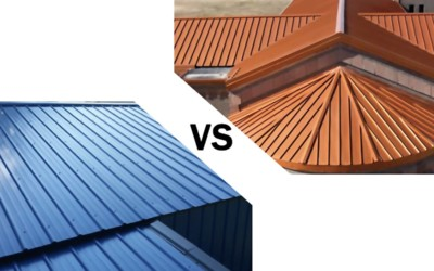 Standing Seam vs. Exposed Fastener Metal Roofing: Which Is Better?