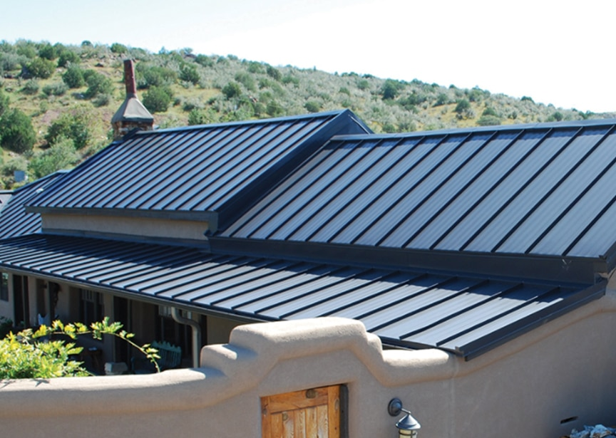 Standing Seam vs Exposed Fastener Metal Roofing: Which is Better: Standing Seam Metal Roofing