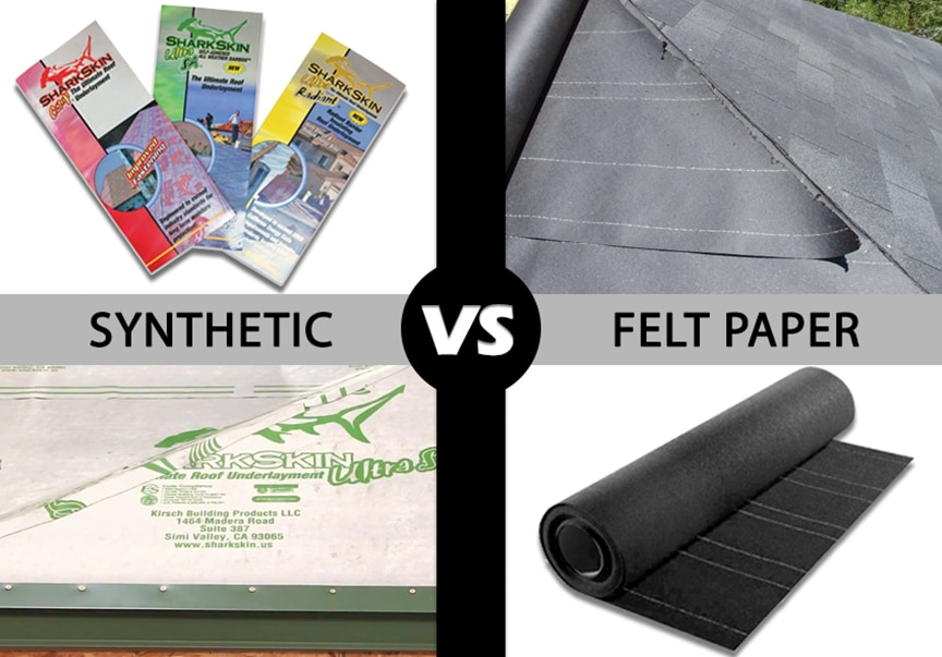 Synthetic vs. Felt Underlayment for Metal Roofing: Which is Best: Main