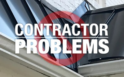 Roofing Contractor or Installation Problems: Top 5 Issues to Watch For