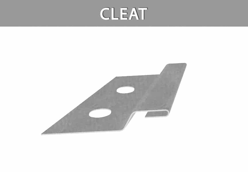 What are Metal Roofing Clips? Definitions, Types, & Comparisons: Cleat